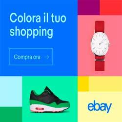 colora il tuo shopping su ebay